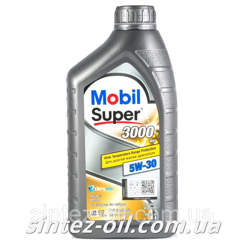 Моторное масло MOBIL SUPER 3000 XE 5W-30 (1л)