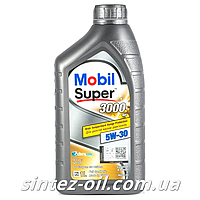 Моторное масло MOBIL SUPER 3000 XE 5W-30 (1л), фото 1