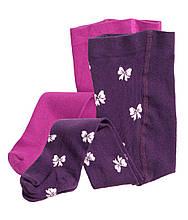 """Детские колготки для девочки """"Фиолет"""" для девочки на рост 68см и 80см"""