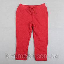 """Детские плотные штаны Next для новорожденного 56см  """"Малыш"""" красные"""