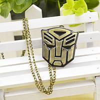 Часы кулон с гербом АВТОБОТОВ Трансформеры Transformers