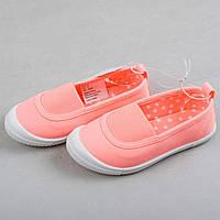 """Детские мокасины тряпичные туфли для девочки H&M """"Лиза"""" для девочки размеры 27, 29"""
