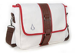 Gaya Canvas Pouch Assassins Creed, White/Brown (GE2019)