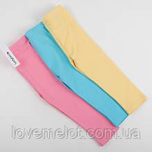 """Детские леггинсы трикотажные штанишки для девочки на 6-9 месяцев рост 74см """"Позитив"""" для девочки"""