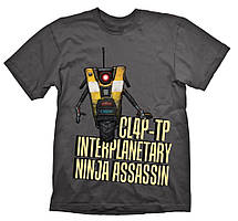 Футболка Gaya Borderlands T-Shirt - ClapTrap Assassin L