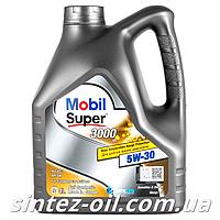 Моторное масло MOBIL SUPER 3000 XE 5W-30 (4л), фото 1