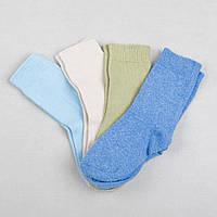 Детские носки хлопковые для ребенка мальчика, 1-2 года
