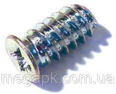 Еврошуруп 5х9мм с потайной головкой, шлиц (PZ), ц/б