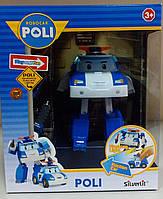 """Трансформер Робокар поли """"Поли"""" 12,5 см. с подсветкой, Robocar Poli"""