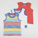 """Детская майка Ladybird """"Штурман"""" для мальчика терракот, размер 68 см, фото 2"""