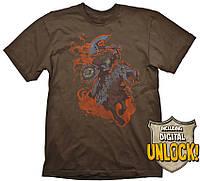 Футболка Gaya DOTA 2 T-Shirt - Chaos Knight + Ingame Code, XL