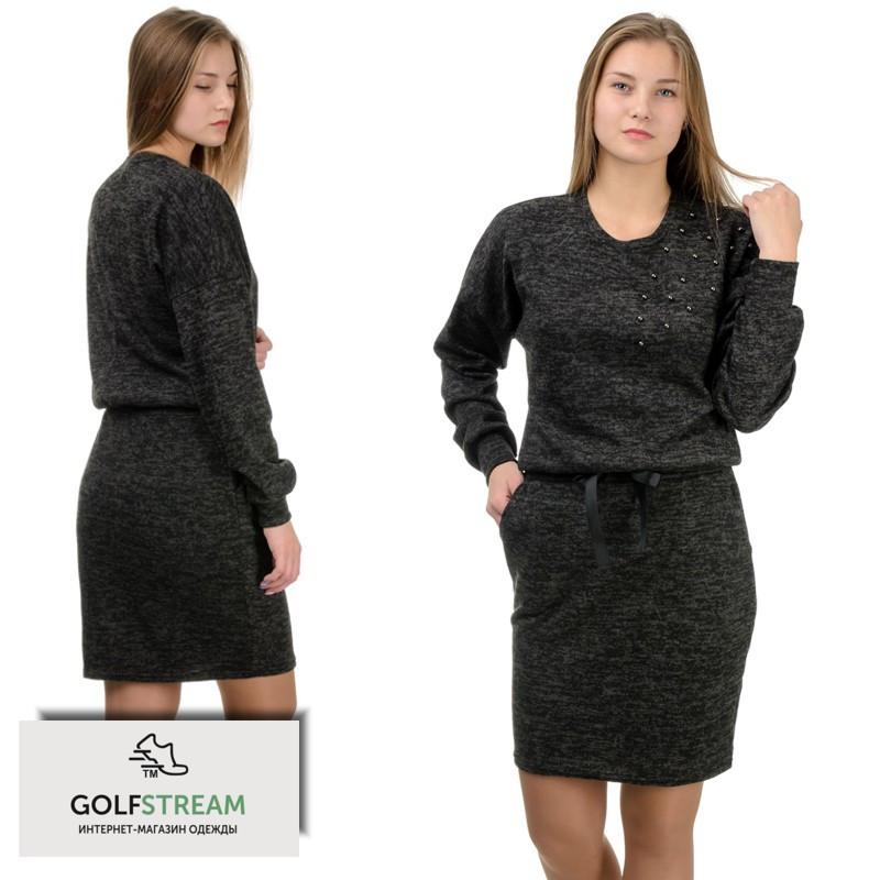 Повседневное платье Milana черный