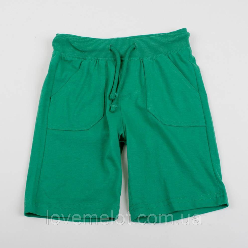 """Детсие шорты """"Гранд"""" зеленые для мальчика"""
