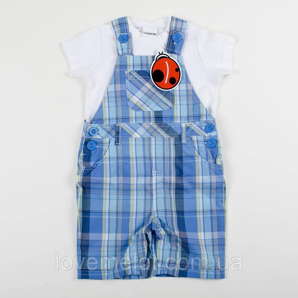 """Детский полукомбинезон с футболкой Ladybird """"Нео"""" летний детский набор на рост 74см"""