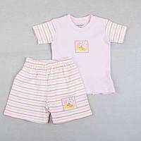 """Костюм-пижама с шортами """"Розовые сны"""" для девочки рост 92"""