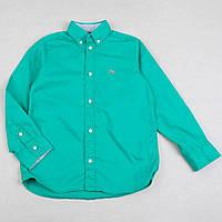 """Рубашка детская H&M """"Франк"""" для мальчика на рост 158см хлопковая рубашка мятная"""