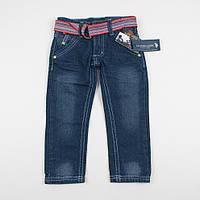 """Детский джинсы с поясом """"Бомбей"""" для мальчика"""