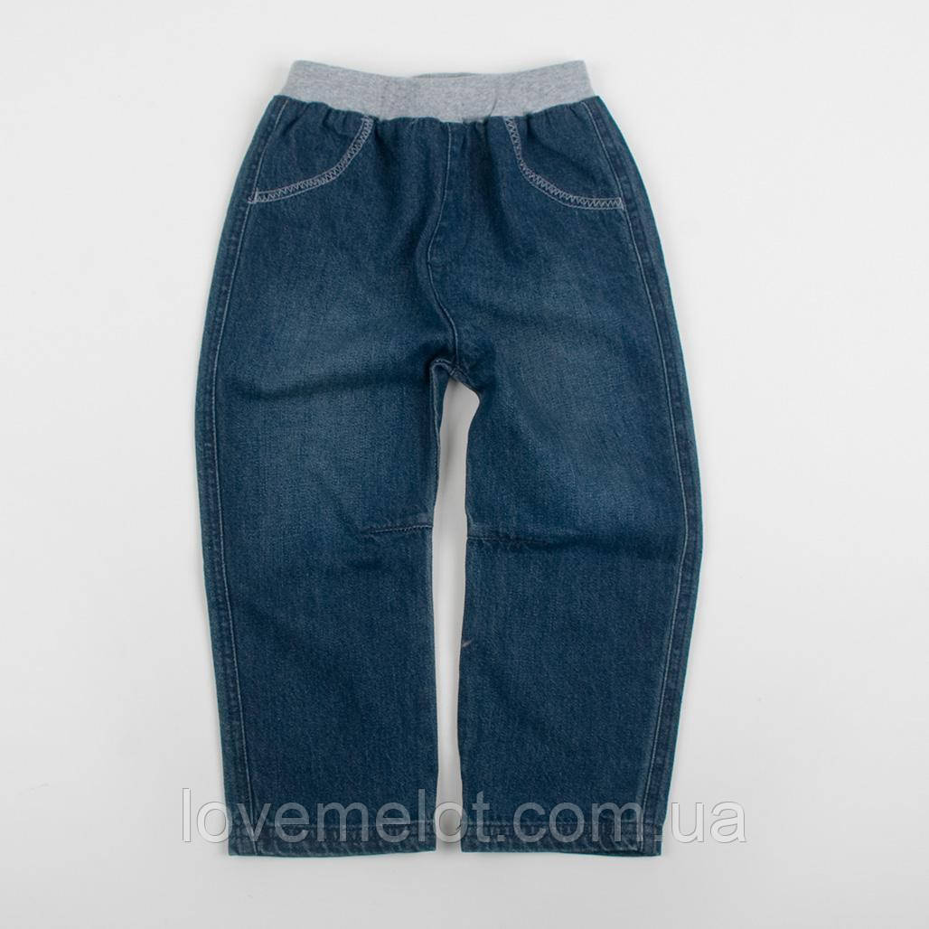 """Детские джинсы на трикотажном поясе """"Эдди"""" для мальчика"""