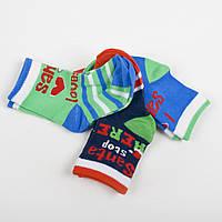 """Детские носки, набор носочков 3 пары """"Люблю Санту"""" 0-6 мес, 6-12 мес,1--2 года"""
