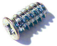Еврошуруп 6х13мм с потайной головкой, шлиц (PZ), ц/б