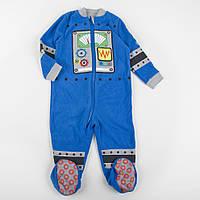 """Человечек детский флисовый  """"Робот Вертер"""" для мальчика, рост 110см"""