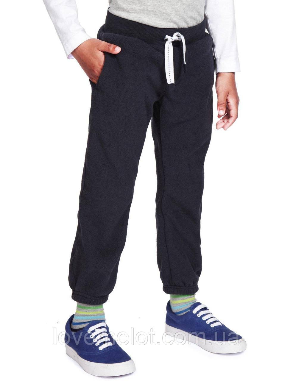 """Детские теплые флисовые штаны M&S """"Олимп"""" для мальчика и девочки на рост 92см"""