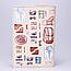 """Обложка на паспорт, бежевая, """"Bon Voyage"""", экокожа, фото 2"""