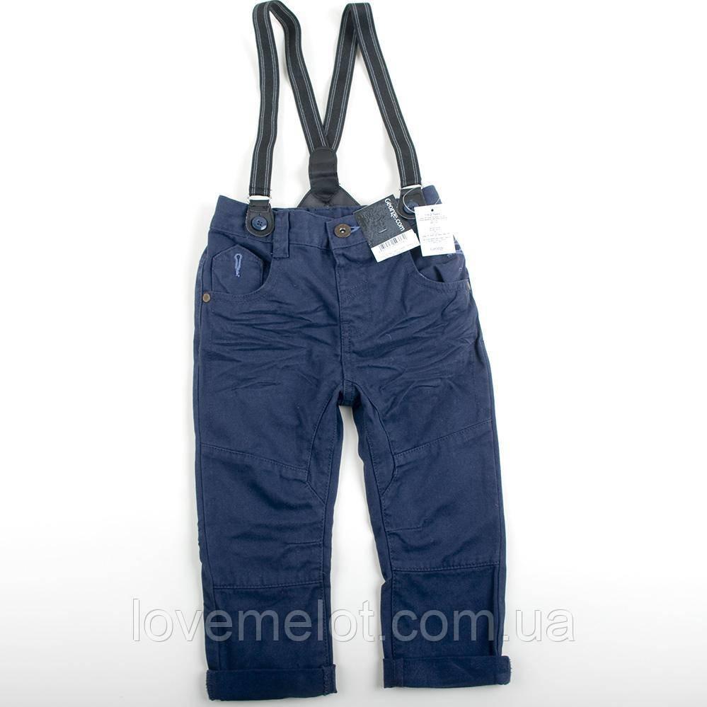 """Детские брюки на подтяжках для мальчика рост 92см """"Гарри"""", штаны на подтяжках для мальчика"""