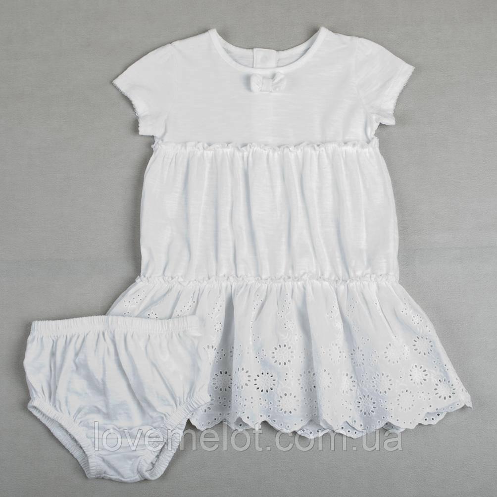 """Дитяче батистових сукня """"Ангелок"""" для дівчинки"""
