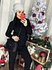 Женский костюм рельефной вязки в расцветках. Д-40-1218, фото 7