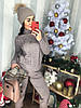 Женский костюм рельефной вязки в расцветках. Д-40-1218, фото 6