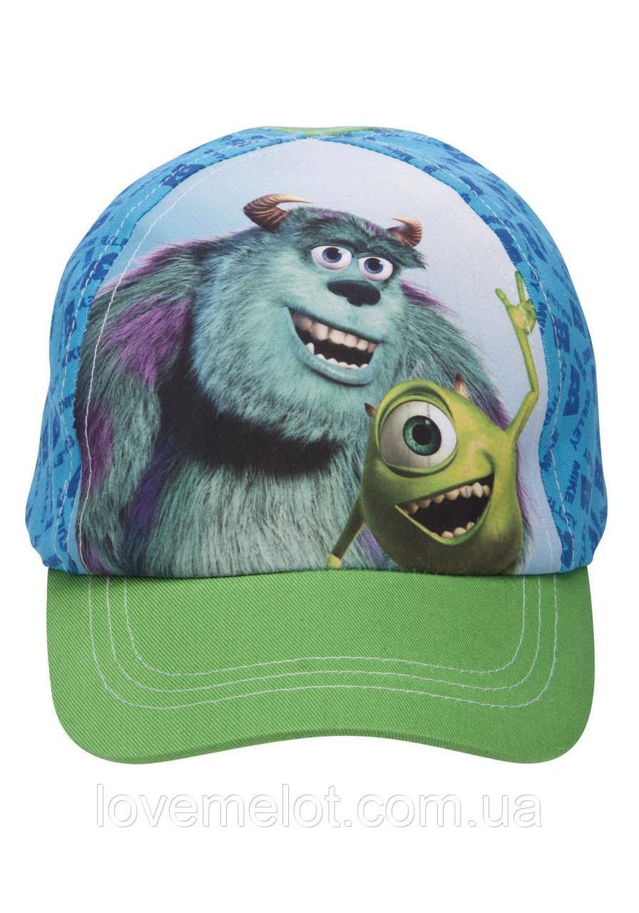 """Детская кепка бейсболка на мальчика 2 года в обьеме 50см  """"Корпорация монстров"""" для мальчика"""