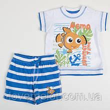 """Детский костюм футболка+шорты для мальчика, рост 74 см от Дисней """"Веселый Немо"""""""
