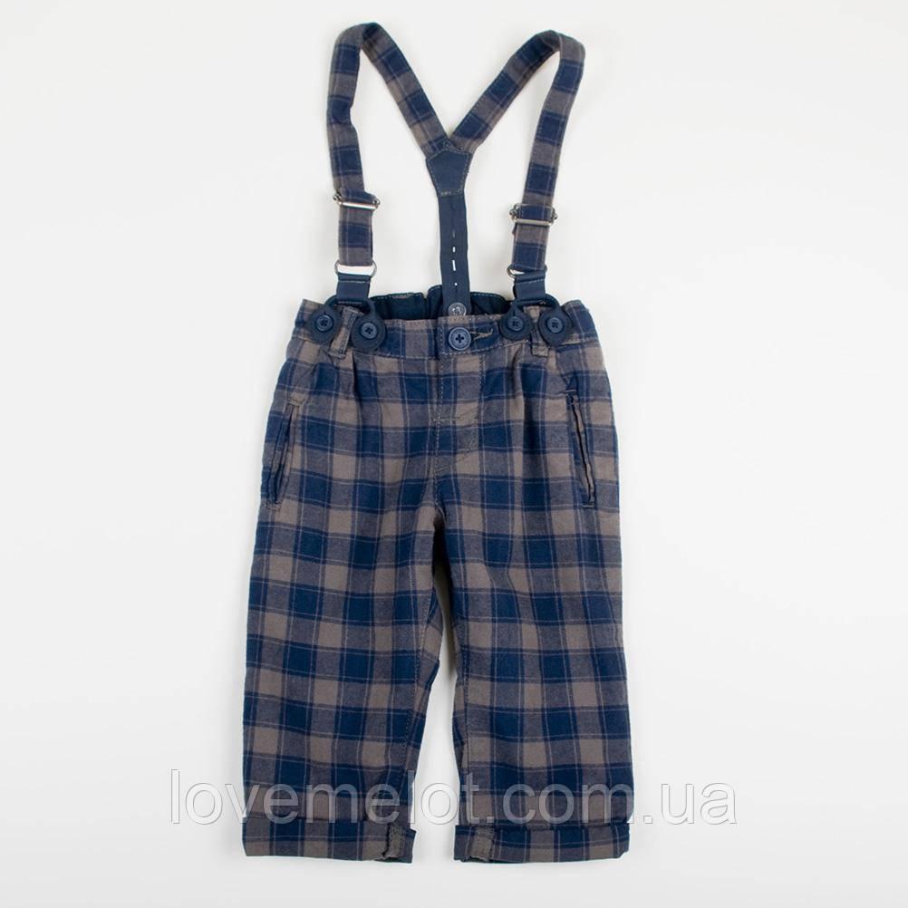 """Детские брюки H&M на рост 80см на подтяжках """"Джентльмен"""" для мальчика"""