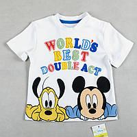 "Детская футболка George ""Звезды Дисней"", размер 68 см футболка микки маус"
