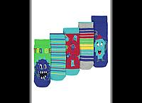 """Детские носки хлопковые для ребенка """"Мои рисунки"""" для мальчика 5-8 лет"""