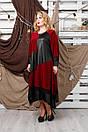 Плаття великого розміру Хельга (5 кольорів), фото 5