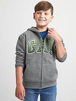 """Реглан детский теплый флисовый """"Gap"""" серый на рост 122см и 134см"""
