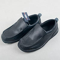 """Детские ботинки """"Удобные"""" чёрные"""