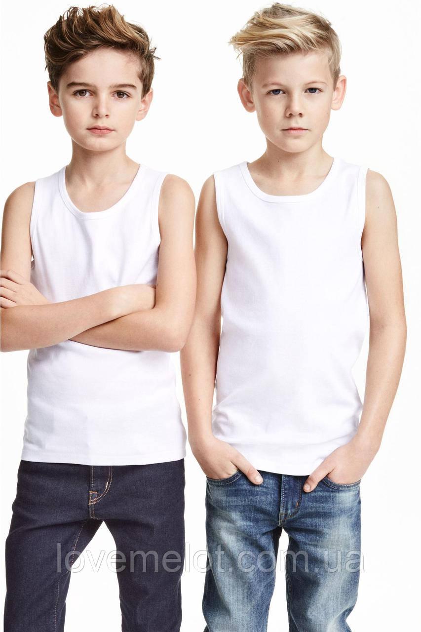 """Майки дитячі """"Кріс"""" для хлопчика, набір 2 шт ріст 116 см 140см"""