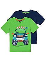 """Детские футболки для мальчика George """"Джип"""", набор 2 шт, размер 5-6 лет"""