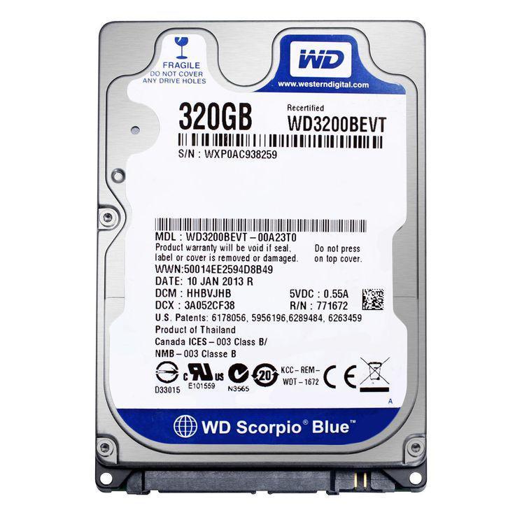 Жесткий диск (HDD) Western Digital 320GB (WD3200BEVT)