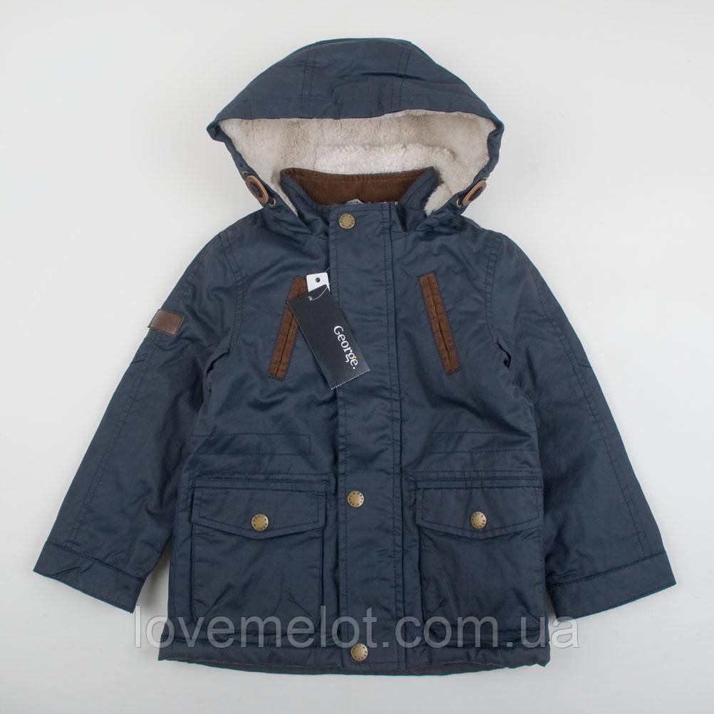 """Куртка """"Юджин"""" 104см рост чёрная для мальчика"""