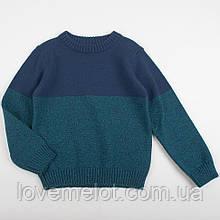 """Детский джемпер свитер для мальчика теплый  """"Финляндия"""" для мальчика на рост 98 и 104см"""