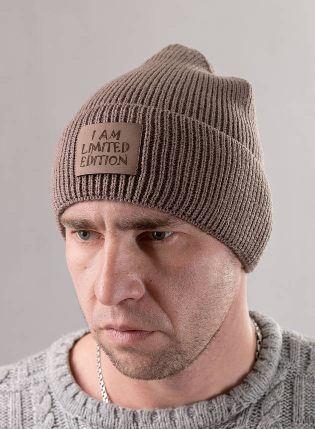 Мужская шапка I am Limited Edition, фото 2