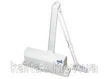 Доводчик дверной USK (60-70 кг) белый