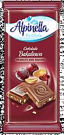 Альпинелла  Арахис изюм 100 г (польский шоколад)