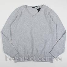 Джемпер детский школьный серый свитер Top Class на рост 128 и 140см