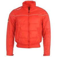 Детская куртка демисезонная сопртивная на рост 128см и 140см  Diadora красная