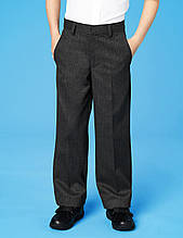 """Детские школьные брюки M&S """"Рон"""" серые, школьные брюки для мальчика, размер 6-7лет (122 см)"""